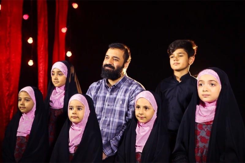 عکس شاخص نماهنگ دریای آرامش گروه سرود احسان